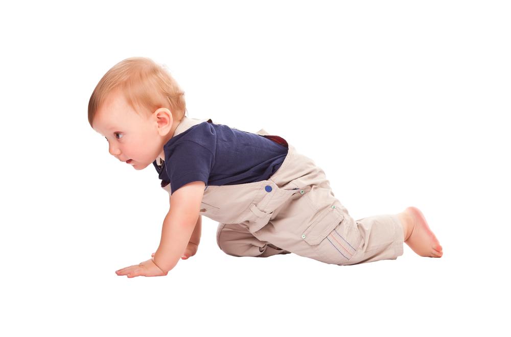 Stimulation du développement moteur des bébés au centre La Lanterne